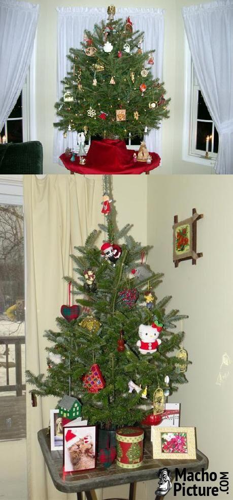Table top christmas tree - 3 PHOTO!