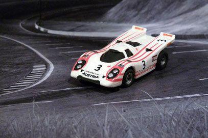 Aurora AFX Porsche 917k Team Salzburg Porsche, Faller