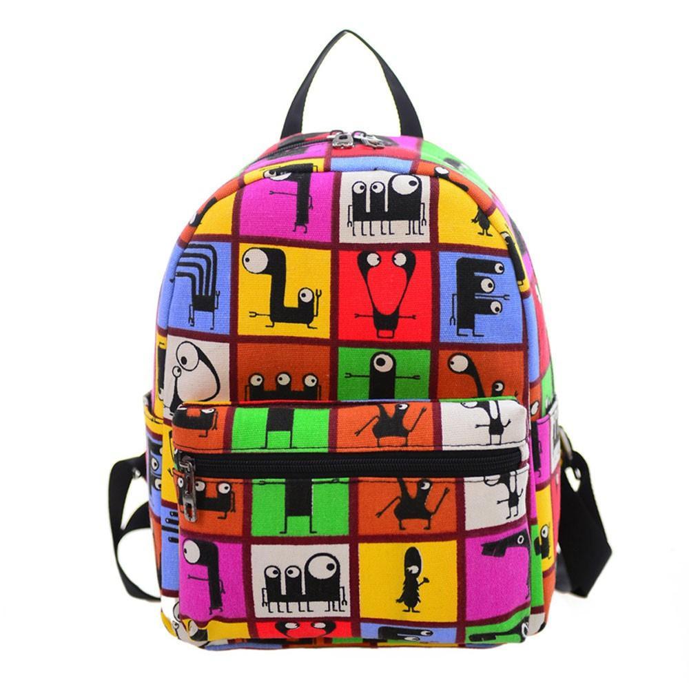 Travel Small Backpacks. Xiniu Women Backpacks Canvas Printing Girl Travel  Small Backpacks Teenager School Backpack ... 5496cead50