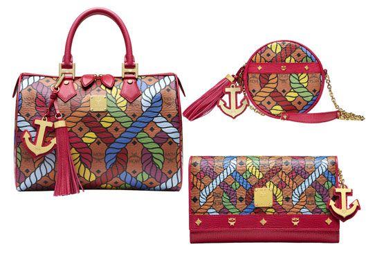 56fa9746e5fd Shanghai series of colorful rope MCM bags female models