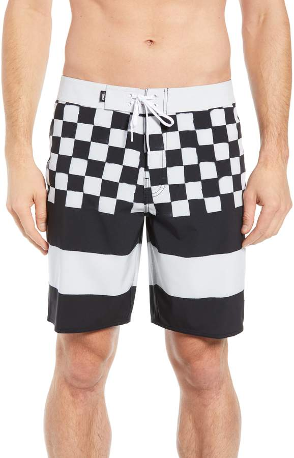 470e4fec27 Vans Era Board Shorts | Products in 2019 | Shorts, Vans, Swimwear