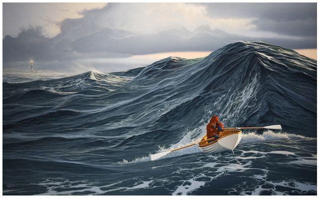sære bølger