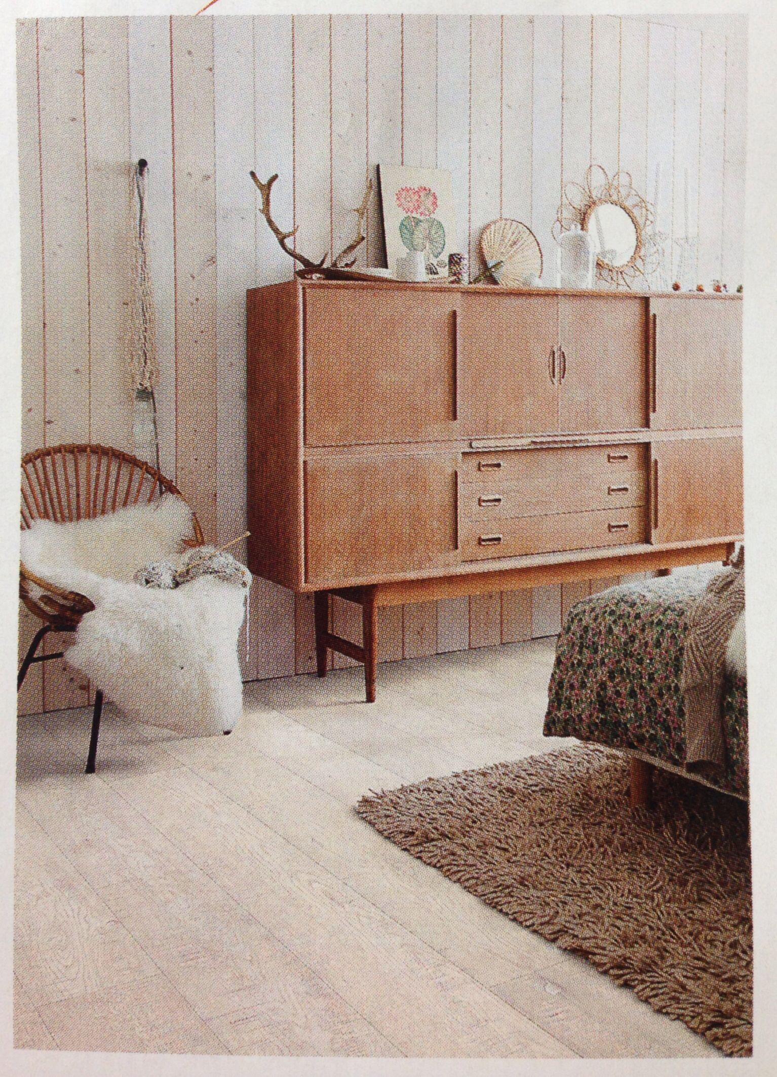 Lovely Pale room. Rough white oak flooring. Quickstep