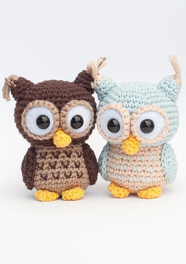 Free Pattern] These Little Lovely Crochet Owls Are The Best | Owl ... | 924x650