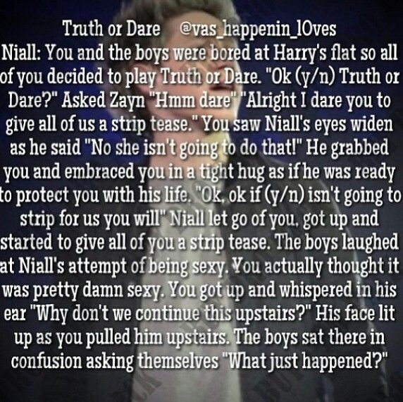 Truth Or Dare Imagine One Direction