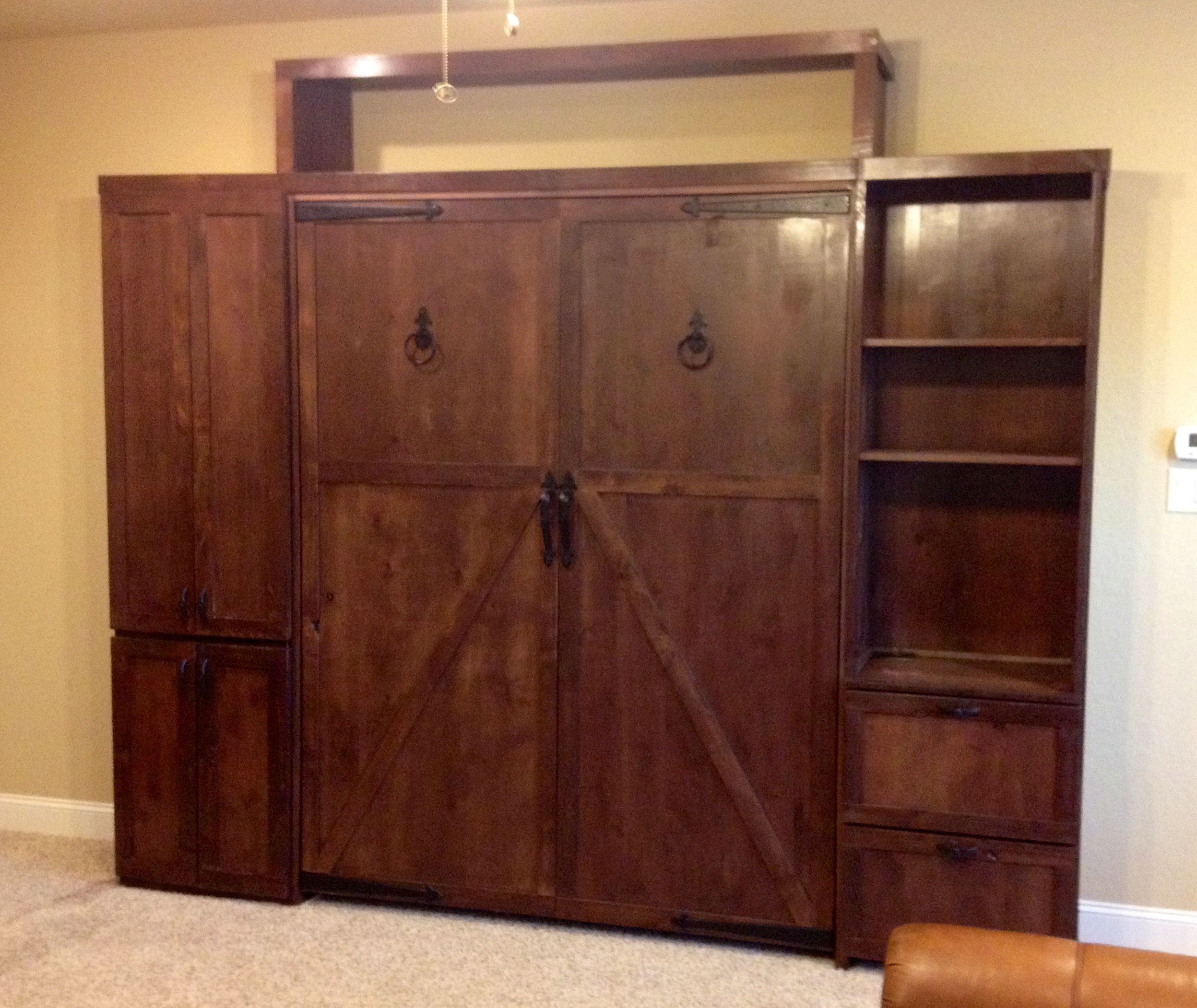 "Furniture New Braunfels: ""The Barn Door,"" Custom-made Exclusively For The Espinoza"