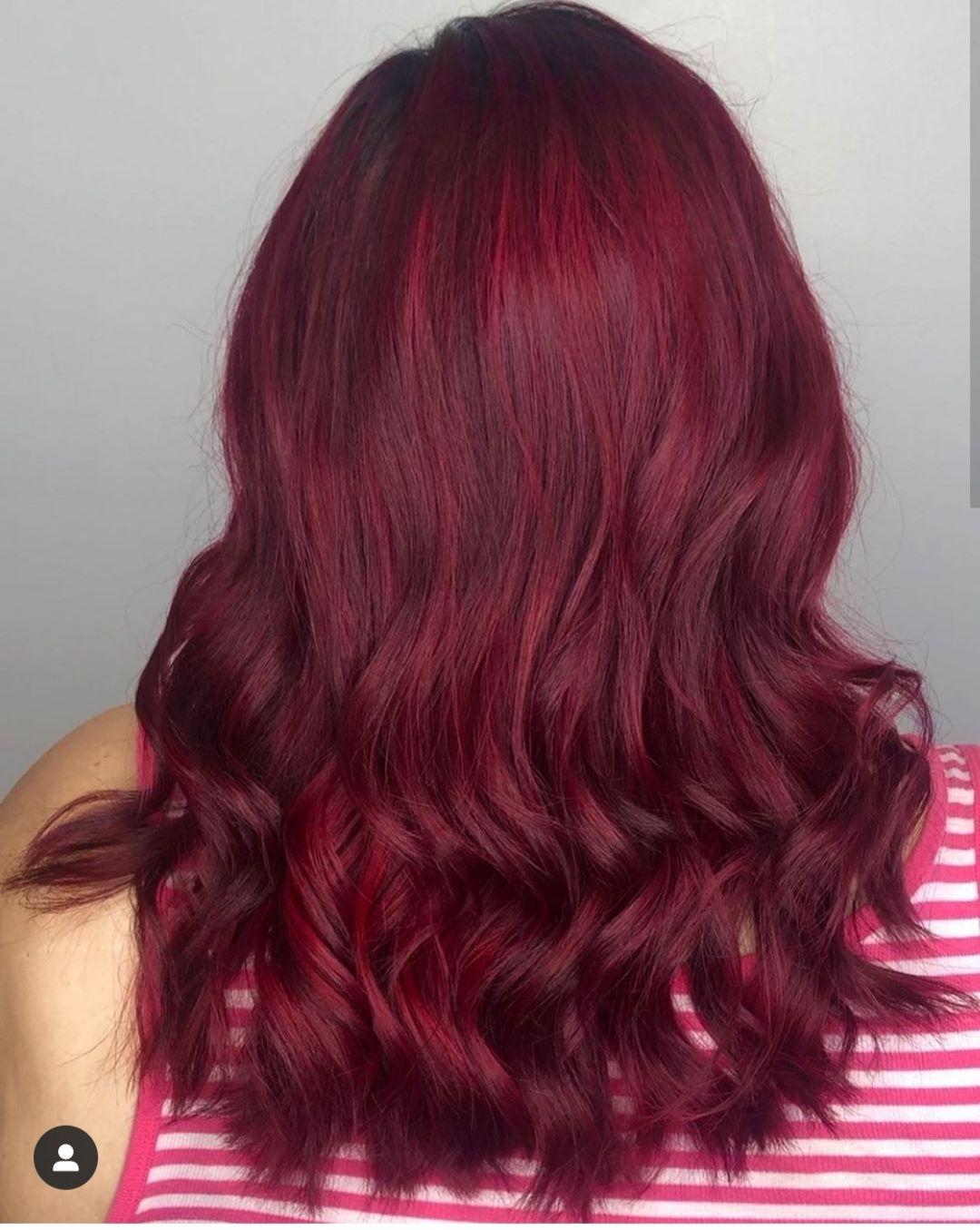 Best Dye To Use For Upkeep On Red Velvet Color Hair Velvet Red