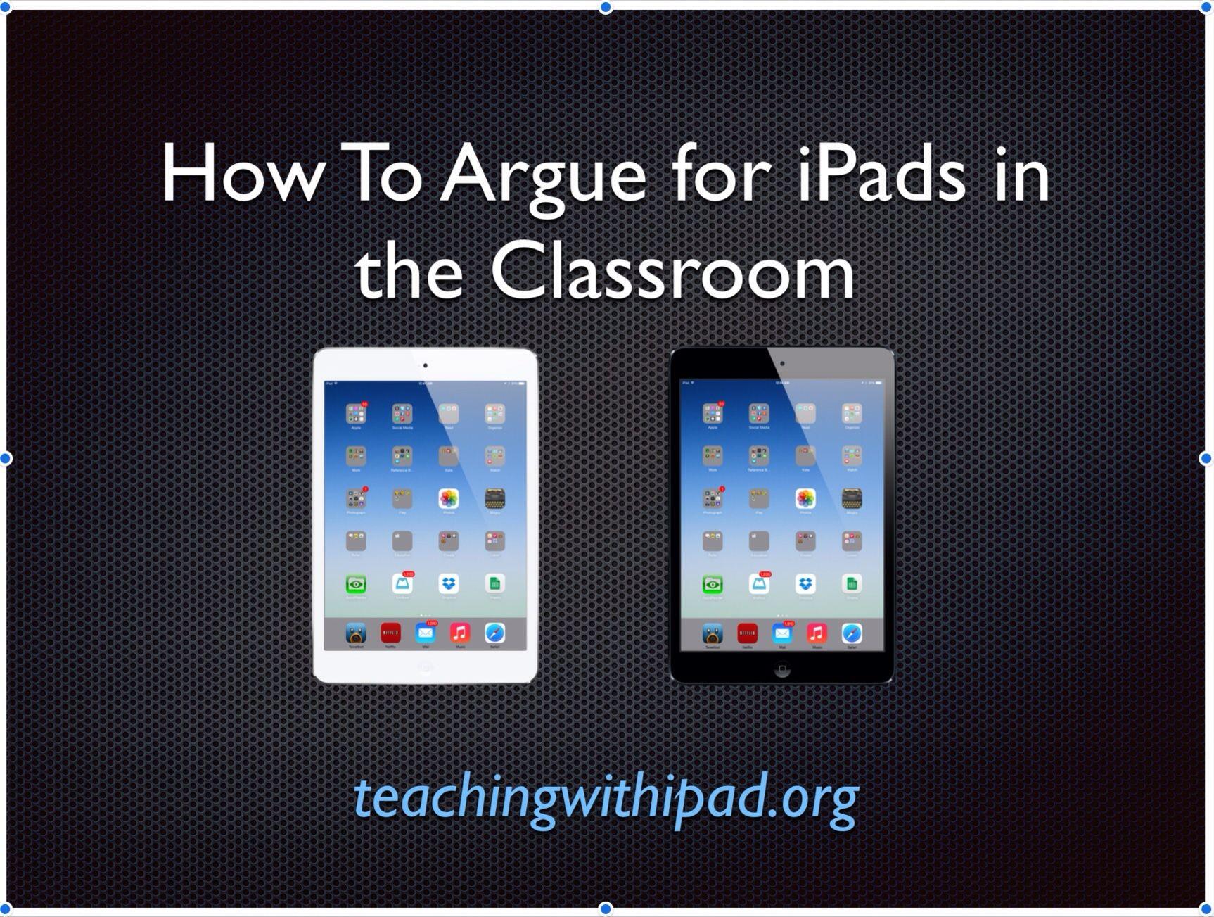 Analyzing iPad Myths in Education