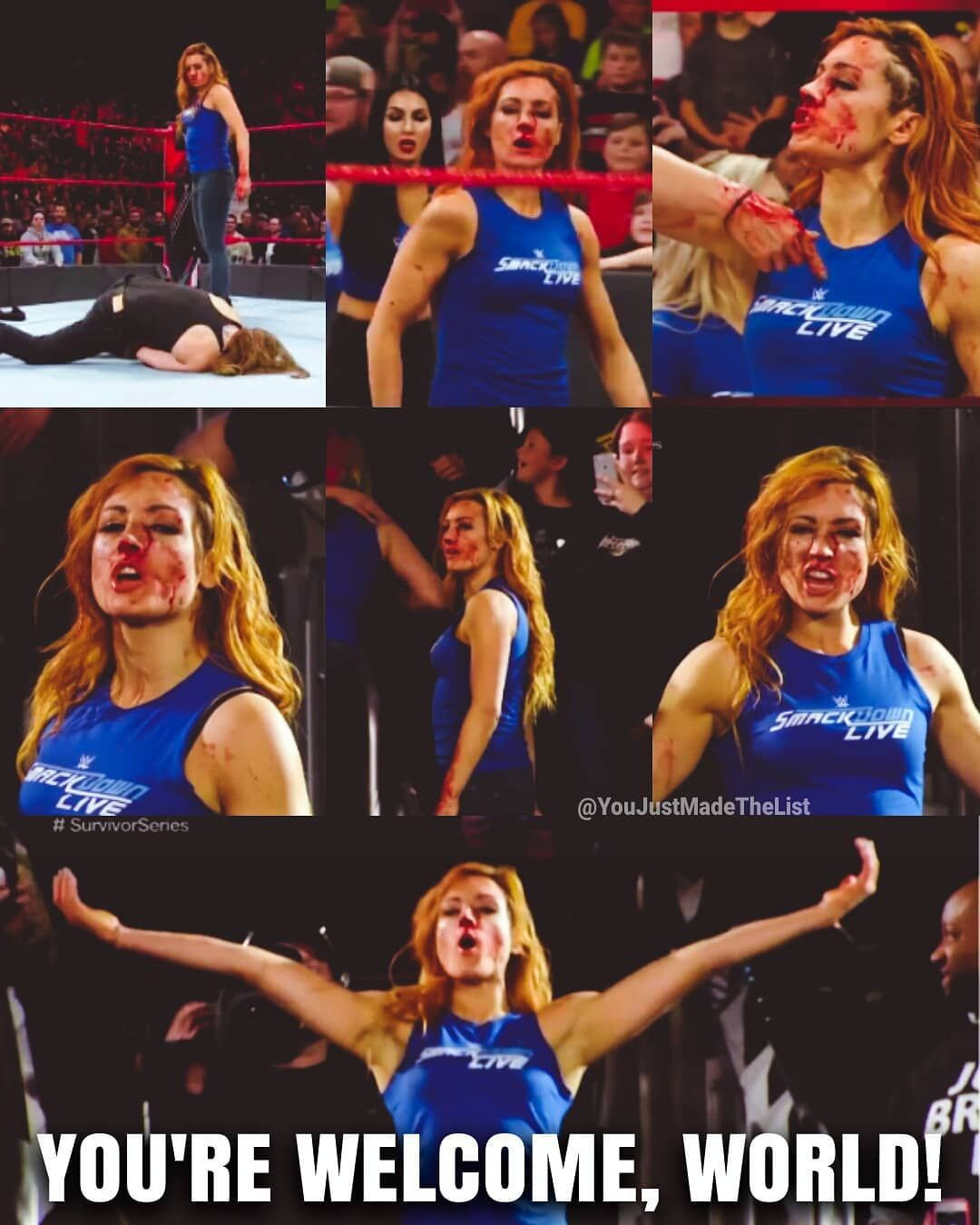 Thank you Becky for existing! Badassery Leve | Irish lass