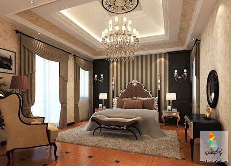 ديكور جبس بورد غرف نوم Luxurious Bedrooms Master Bedroom Interior Design Master Bedroom Interior