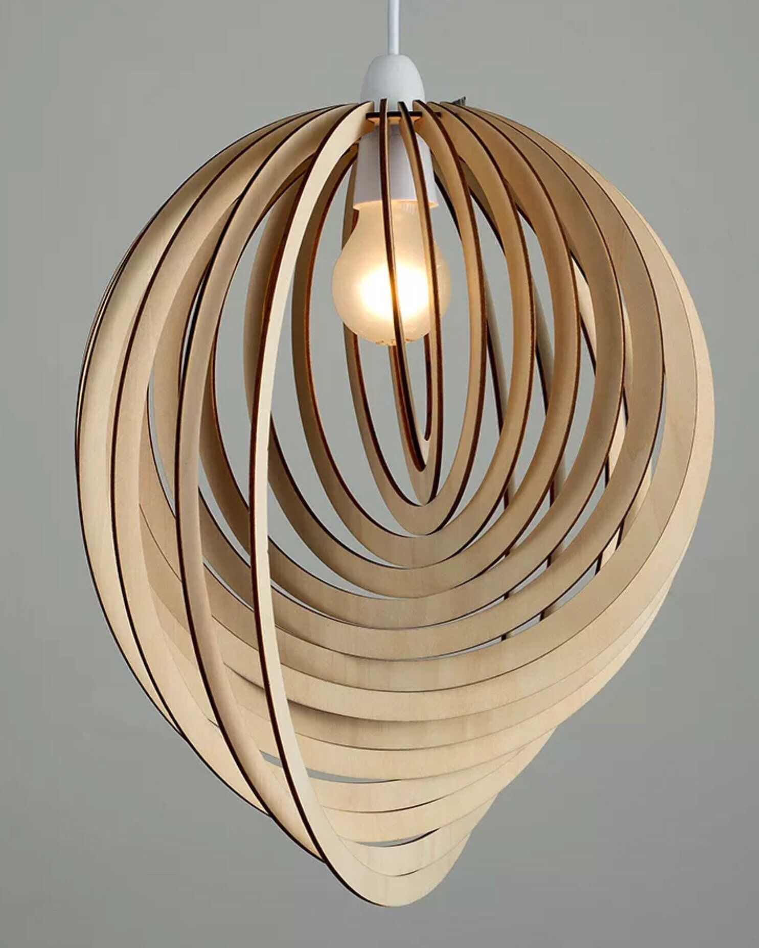 Pendant Light Shade Lamp Shade Ceiling Light Shade Spiral