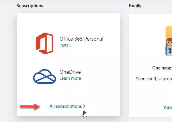 How To Cancel Office 365 Subscription In 2020 Office 365 Office 365 Personal Microsoft Support
