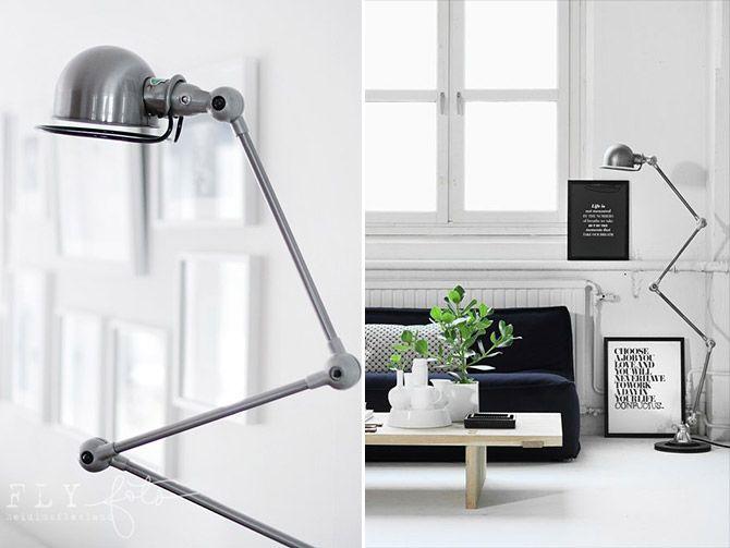 Lampa od Jieldé   Floor lamp, Beautiful things and Industrial