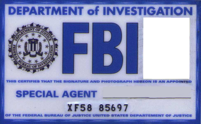 Faux Fbi Agent Badge Fir Costume  Cosplay Xfiles  Random Ideas