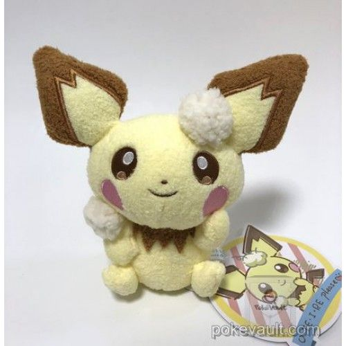 Pokemon Center 2018 Oteire Please Campaign Pichu Plush Toy | Pokemon ...