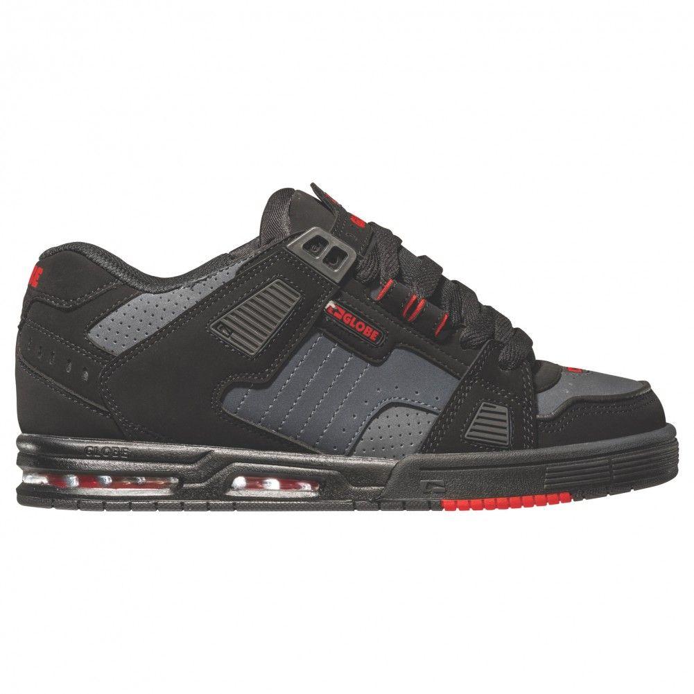 Globe Sabre Shoes - Black / Phantom / Red