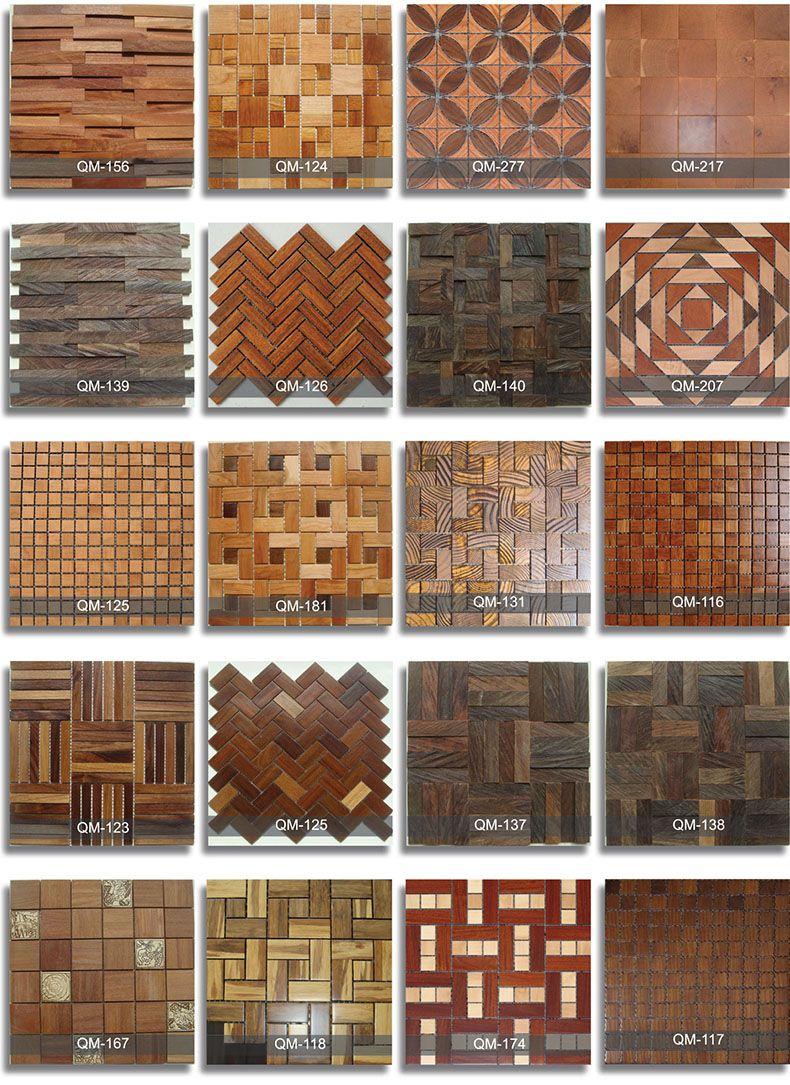 Wooden Mosaic 4 Wood Floor Design