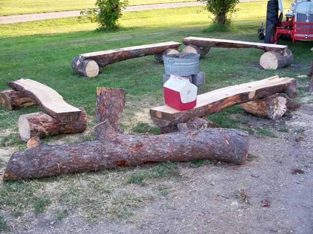 Rustic Log Benches For Sale Literature Old Furniture