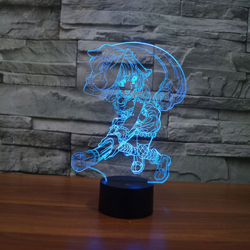 Online Shopping At A Cheapest Price For Automotive Phones Accessories 3d Illusion Lamp 3d Led Night Light 3d Illusions