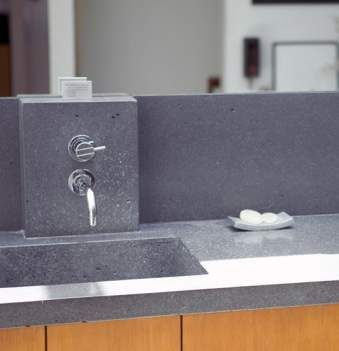 Eco Friendly Syndecrete Countertops While Granite May Still Rank As The Most  Highly Desired Countertop