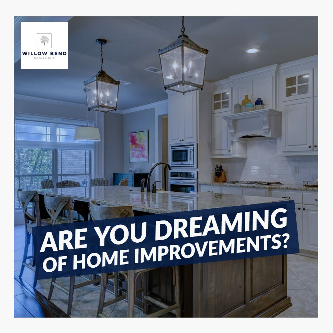Do You Have Home Improvements In Mind? Would You Like To