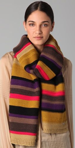 I want to make this Sonia Rykiel scarf