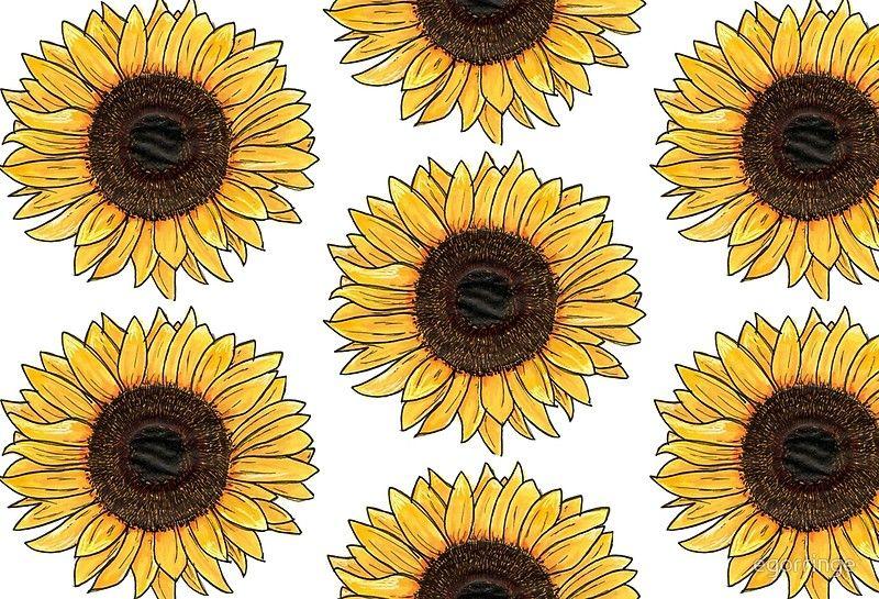 Sunflower Hardcover Journal By Egorringe Sunflower Wallpaper Yellow Aesthetic Pastel Cute Desktop Wallpaper