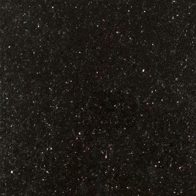 Stonemark 3 In X 3 In Granite Countertop Sample In Black Galaxy