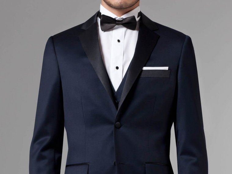 Premium Midnight Blue Three-Piece Tuxedo 1 | My Style | Pinterest ...