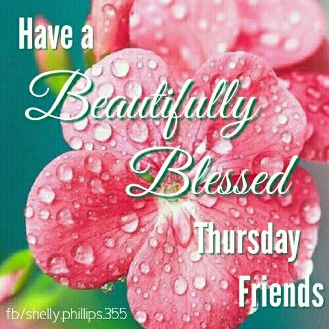 Have A Beautiful Thursday Good Morning Thursday Thursday Quotes