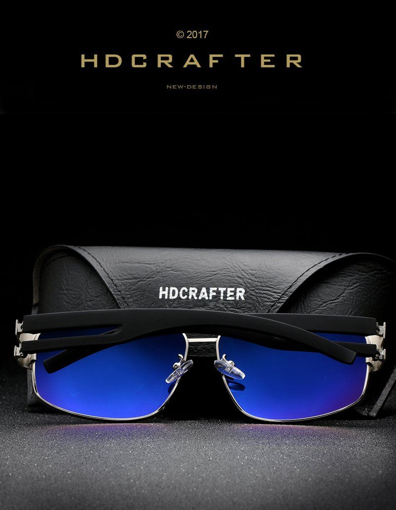 Hdcrafters Brand Mens Fashion Polarized Driving Sunglasses