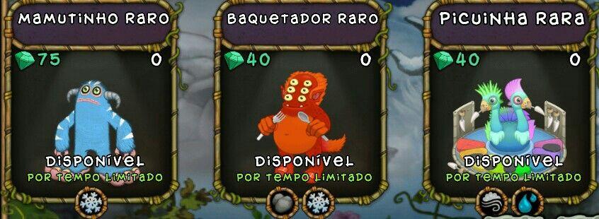 My singing monsters breeding match combinação Picuinha