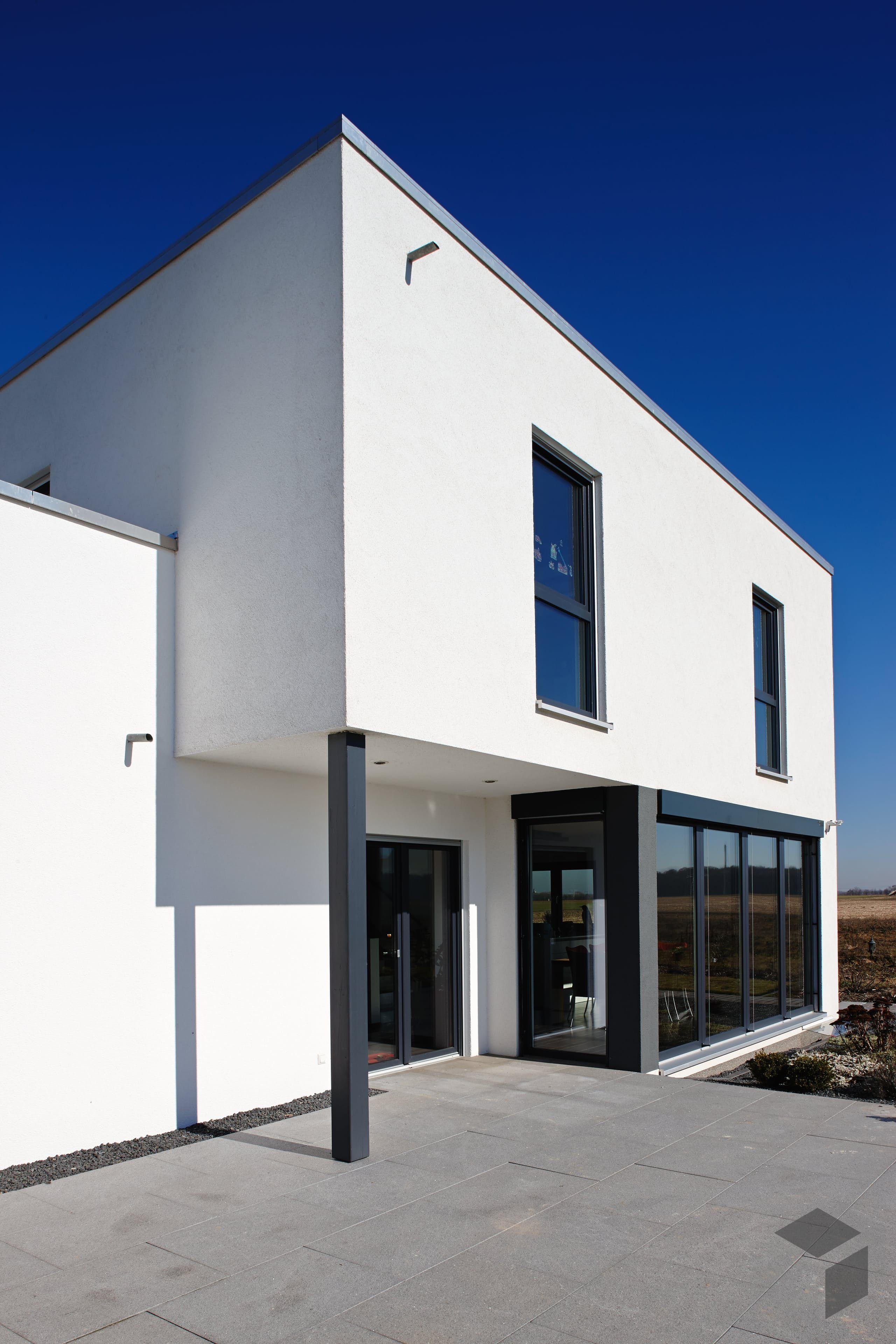 Kubushaus mit Flachdach von FingerHaus Erhalte alle Infos