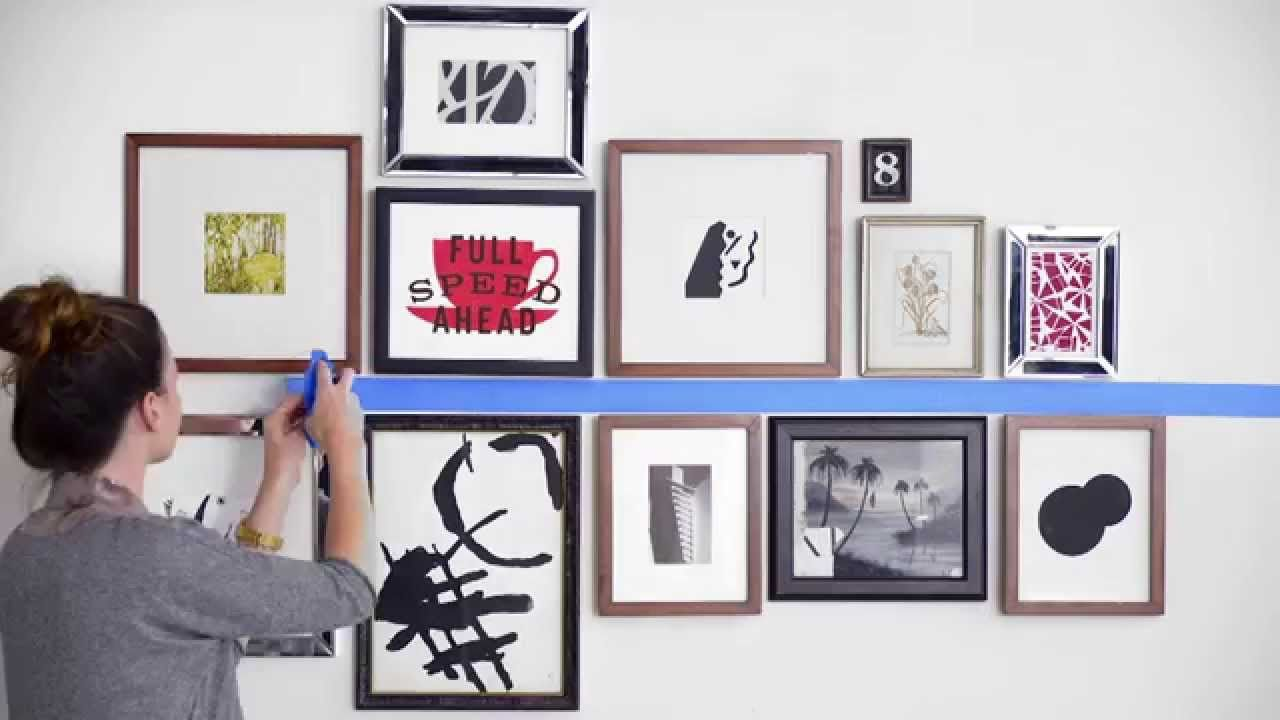 How To Hang Wall Art Like A Pro Interieur Lijst
