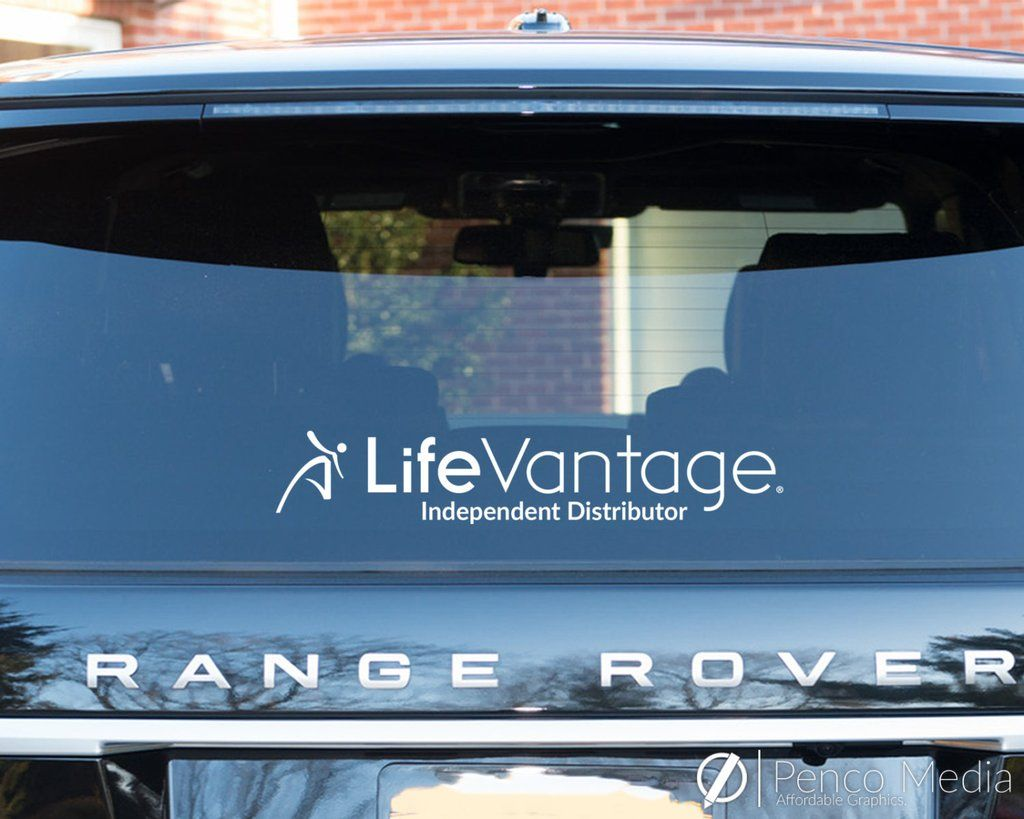 LifeVantage Decal Design #1 | Penco Media | Pinterest