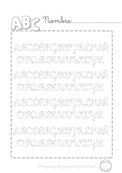Caligrafia De Abecedarios Para Imprimir Imagenes Para Imprimir Dibujos Para Imprimir Art Lessons Elementary Preschool Worksheets Preschool Activity