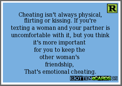 Is Texting A Form Of Cheating