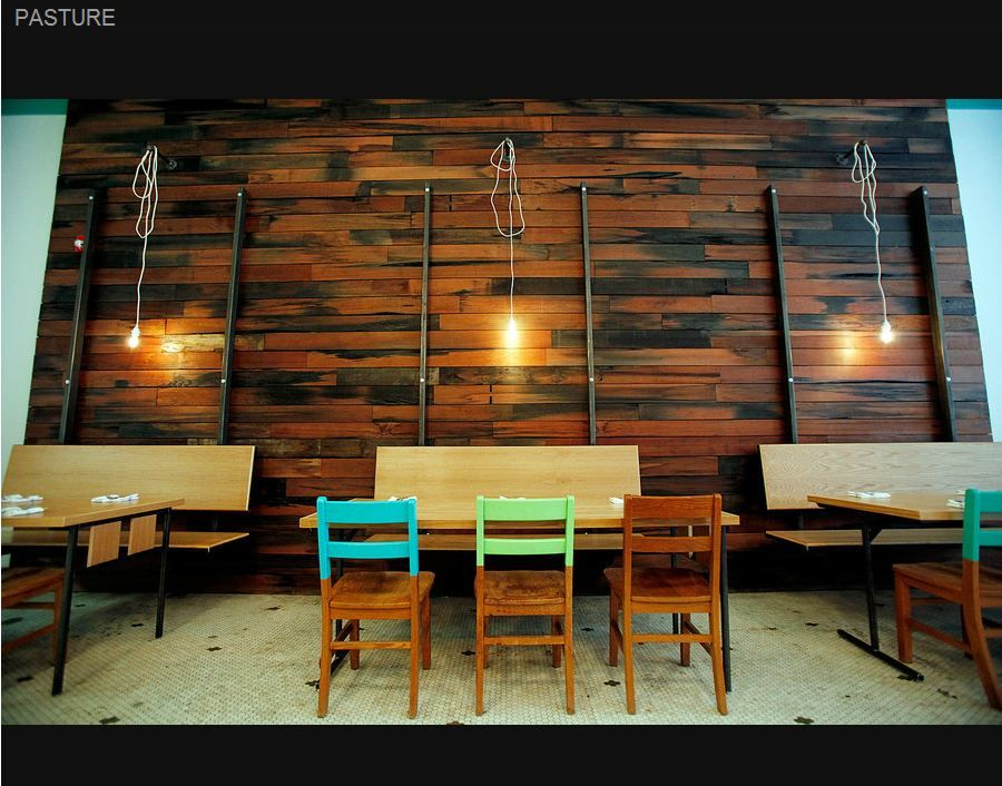 Interior Shot Of A New Restaurant In Richmond Va Pasture Can T