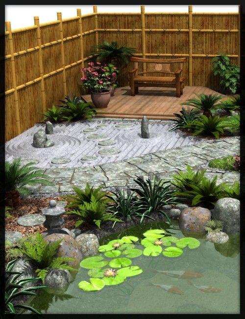 Japanese Tea Garden Tea House Bundle Japanese Garden Small Japanese Garden Japanese Garden Design
