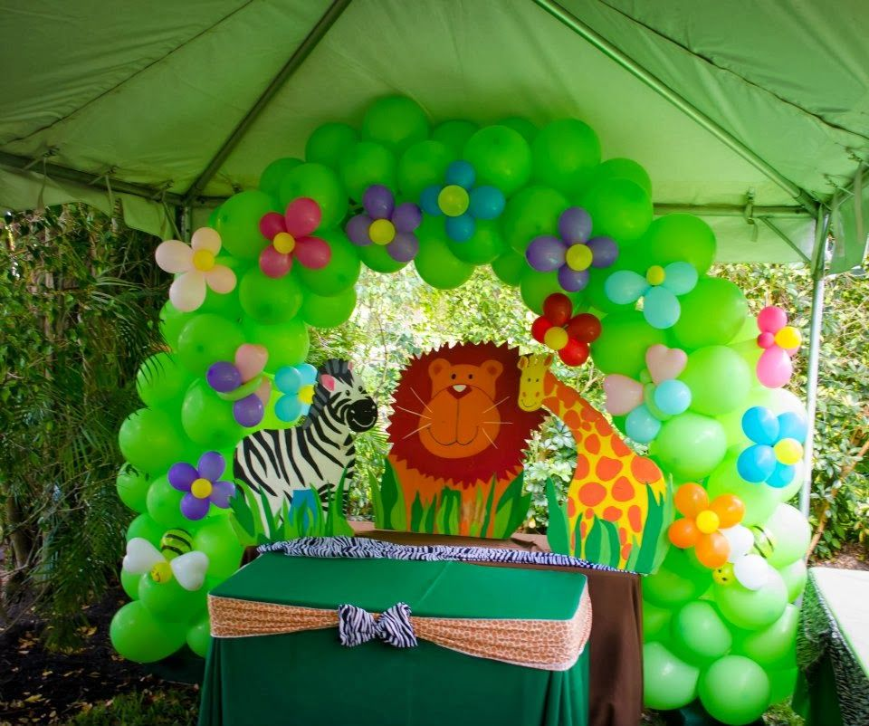 Baby Gone Wild Birthday Party Parties Jolly Jungle