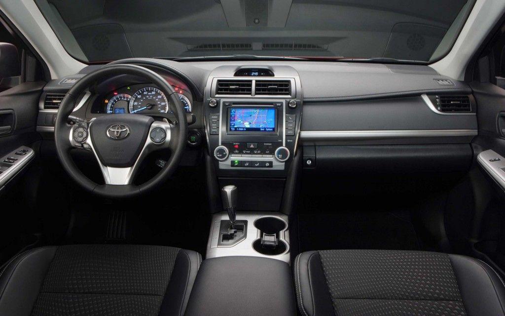 Inside A 2013 Toyota Camry Camry 2012 Camry Toyota Camry