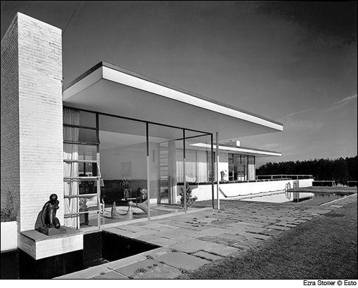 A. Cogner Goodyear House, Edward Durell Stone, 1938