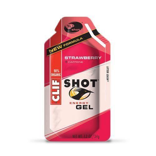 Clif Bars Shot Strawberry (24x1.2oz )