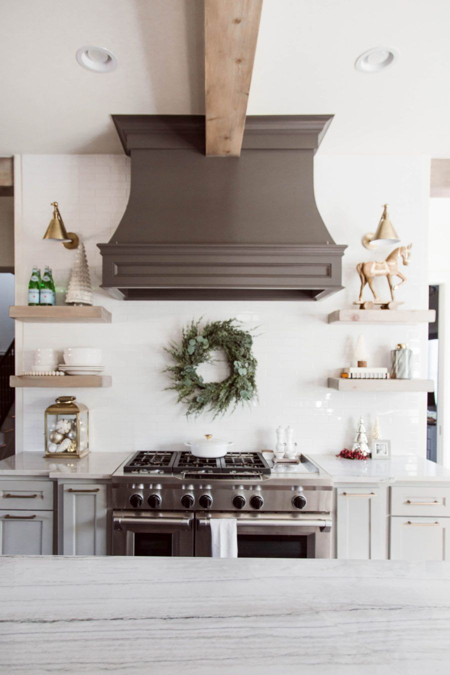cozy christmas kitchen christmas kitchen decor home remodeling on kitchen xmas decor id=64758