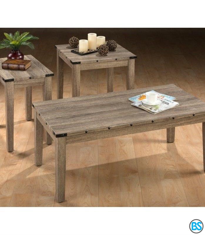 Jofran Taos 3 Piece Coffee Table Set In Oak In 2020 Living Room Table Sets 3 Piece Coffee Table Set Coffee Table #oak #living #room #end #tables