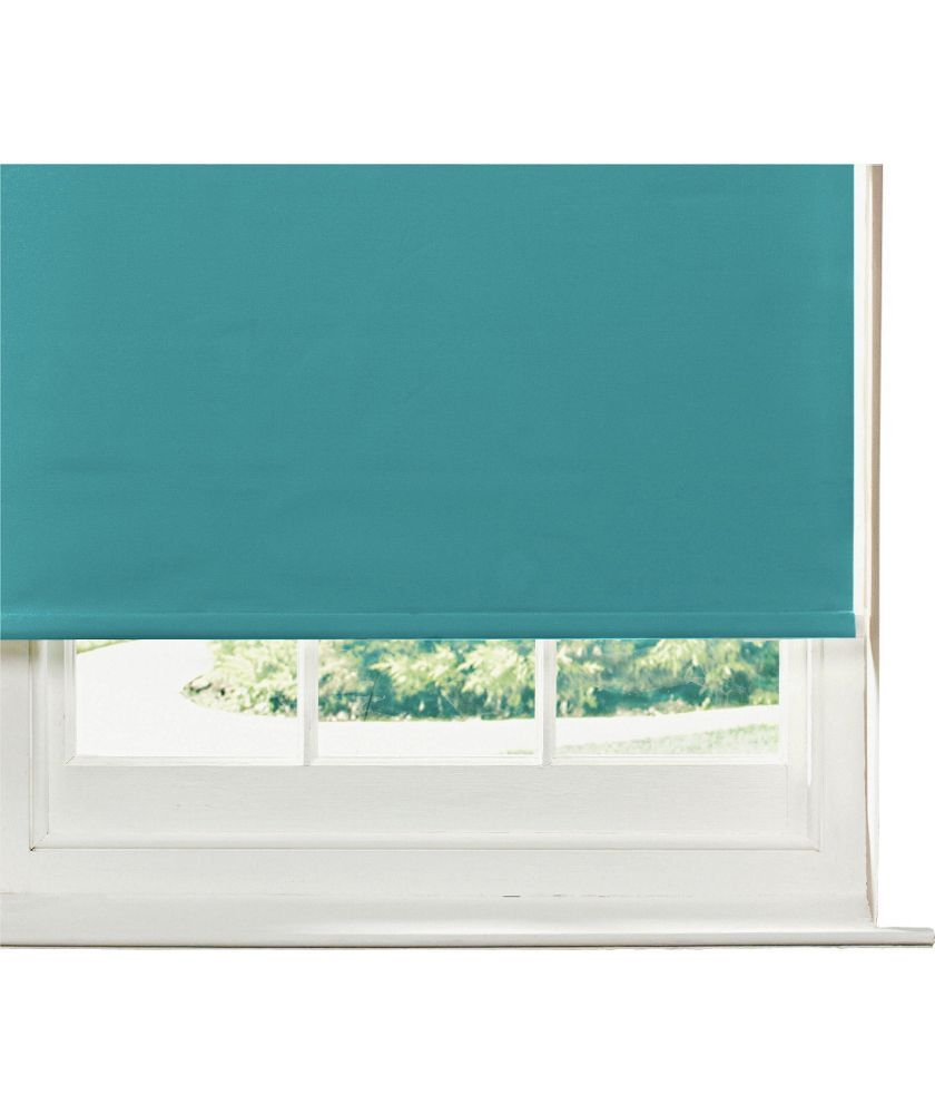 Buy ColourMatch 5ft Blackout Roller Blind - Lagoon at Argos.co.uk ...