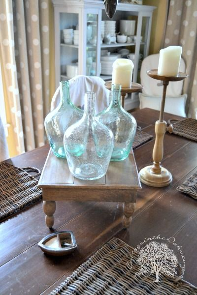 Late Summer Centerpieces  Farmhouse Table Centerpieces Farmhouse Simple Dining Room Center Pieces Design Ideas