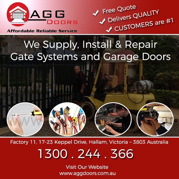 Only At Agg Doors  Gate Systems And Garage Doors Supply