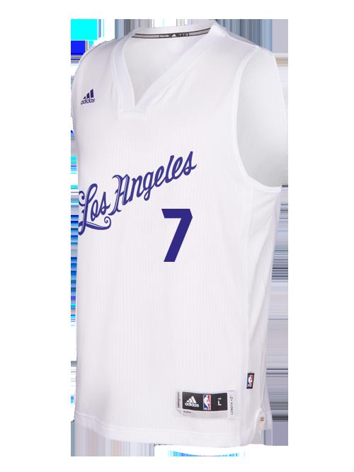 quality design 93224 1089e Los Angeles Lakers Larry Nance Jr. Christmas Swingman Jersey ...
