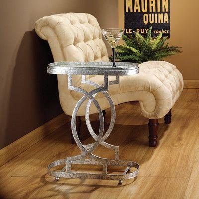 Design Toscano Art Deco Petite Caddie End Table